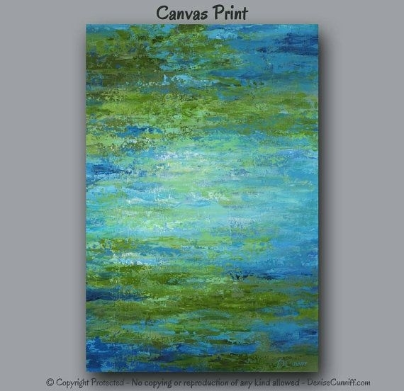 403 Best Colors Green+Blue Images On Pinterest | Office Decor For Olive Green Abstract Wall Art (Image 3 of 15)