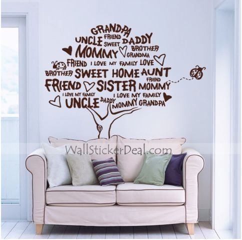 409 Best Tree Wall Decals Images On Pinterest | Tree Wall Decals With Regard To Wall Accents Stickers (Image 2 of 15)