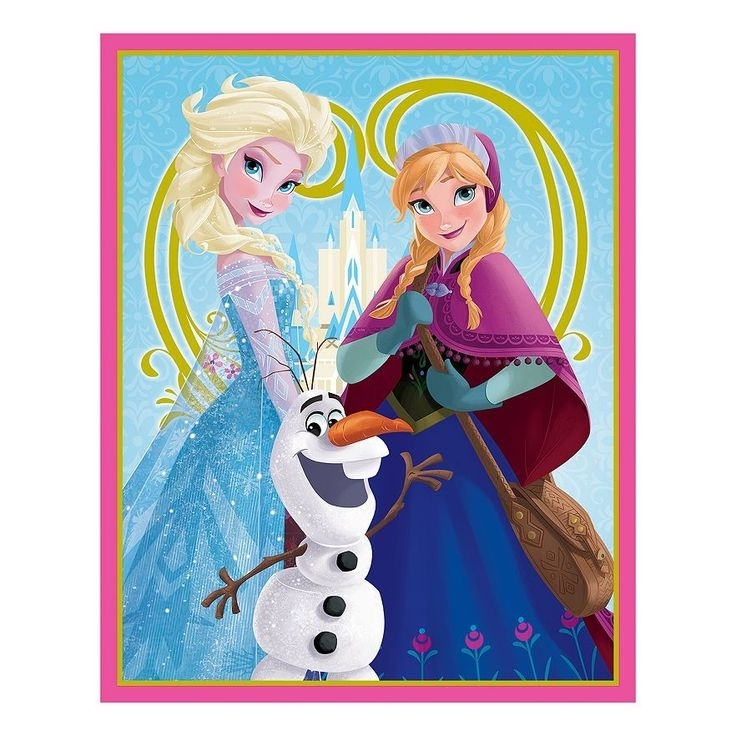 42 Best Bedroom Makeover Images On Pinterest | Disney Frozen With Elsa Canvas Wall Art (Image 4 of 15)