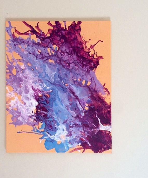43 Best Splatter Art Images On Pinterest | Splatter Art, Abstract throughout Abstract Neon Wall Art