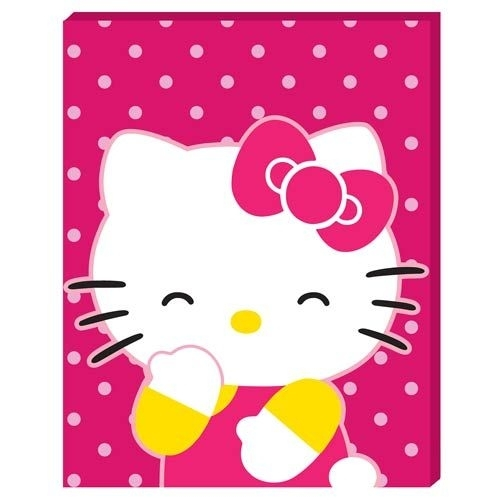 44 Best Hello Kitty Images On Pinterest | Hello Kitty Stuff, Hello For Hello Kitty Canvas Wall Art (View 14 of 15)