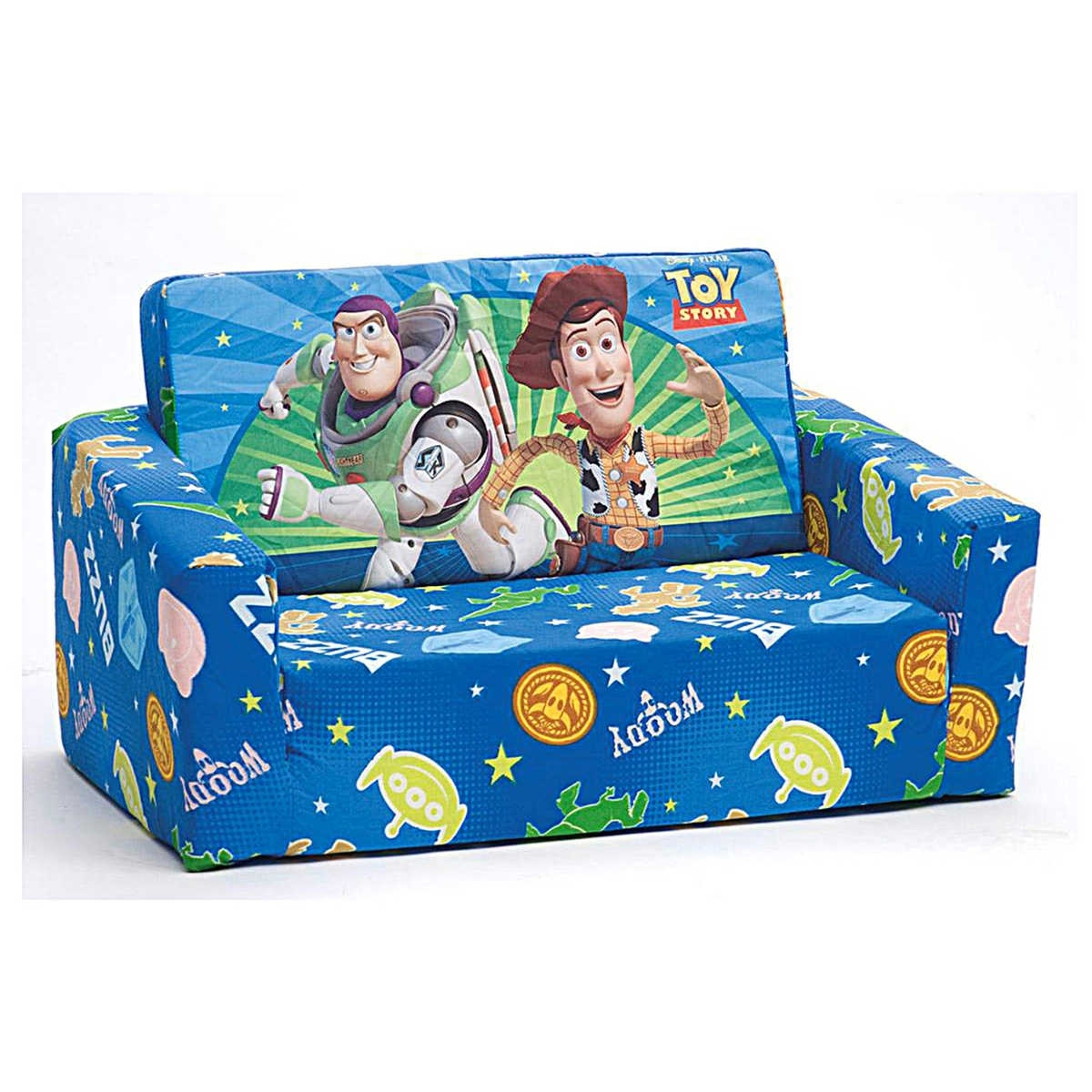 44 Fold Out Sofa Kids, Kids Fold Out Chair Bed Kids Character Foam Pertaining To Flip Out Sofas (Photo 6 of 10)