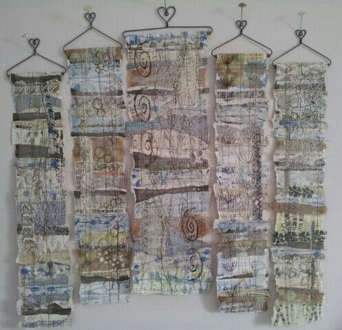 456 Best Inspiratie Images On Pinterest | Abstract Art, Textile Within Textured Fabric Wall Art (Image 4 of 15)