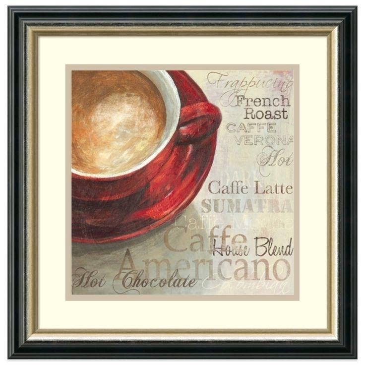47 Best Coffee Wall Art Images On Pinterest | Coffee Wall Art, Tea inside Framed Coffee Art Prints