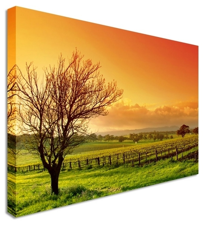 48 Best Landscape Canvas Prints | Natural Scenery Canvas Prints Intended For Landscape Canvas Wall Art (Image 5 of 15)