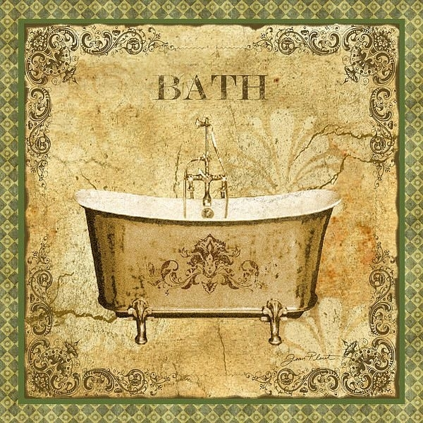 49 Best Baño Images On Pinterest | Bathroom, Laminas Vintage And Within Vintage Bath Framed Art Prints Set Of (View 15 of 15)