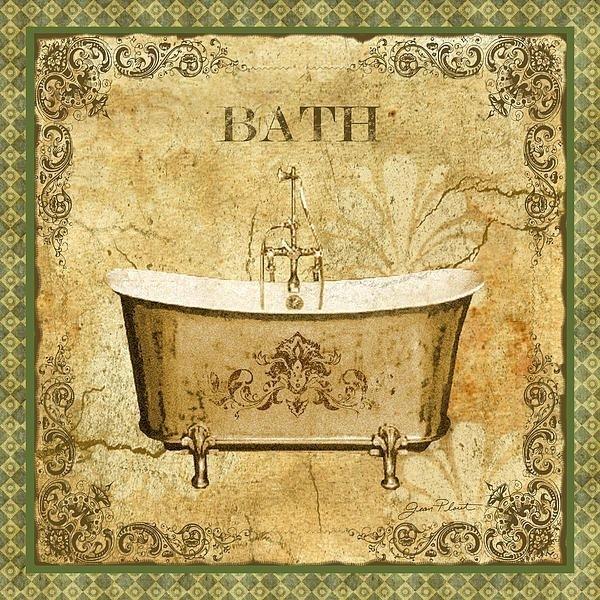 49 Best Baño Images On Pinterest | Bathroom, Laminas Vintage And within Vintage Bath Framed Art Prints Set of 3