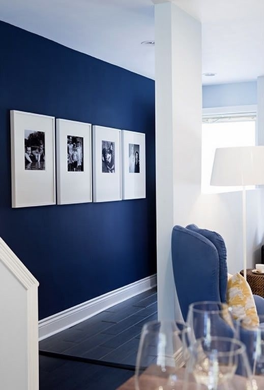 5 Affordable Ideas : How To Decorate A Rental House / Apartment for Blue Wall Accents