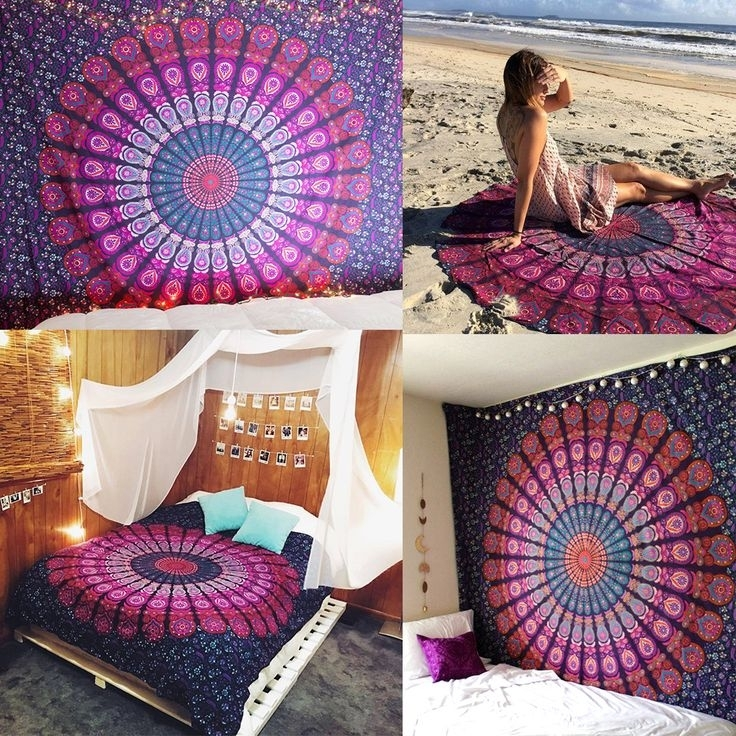 51 Best Mandalas Images On Pinterest | Mandalas, Bricolage And with regard to Stretchable Fabric Wall Art