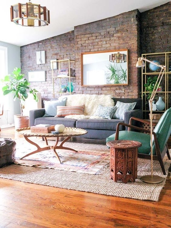 54 Eye-Catching Rooms With Exposed Brick Walls | Bricks intended for Exposed Brick Wall Accents