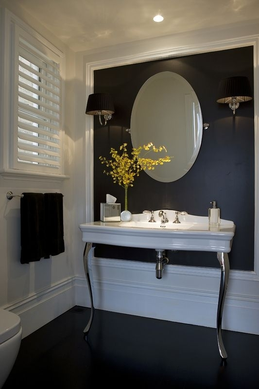 554 Best Los Baños Images On Pinterest | Bathroom, Bathrooms And Intended For Wall Accents For Bathroom (Image 4 of 15)