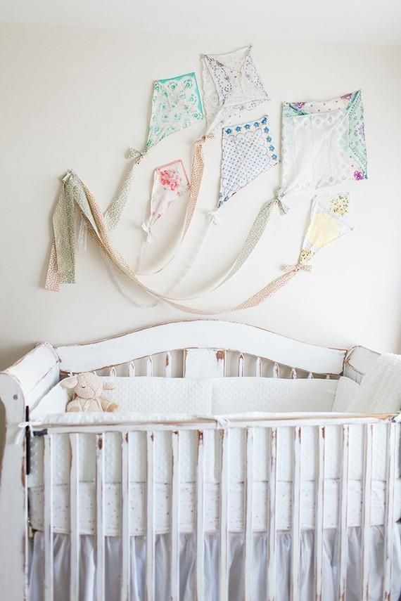 569 Best Nursery Ideas Images On Pinterest Within Baby Nursery Fabric Wall Art (Image 2 of 15)