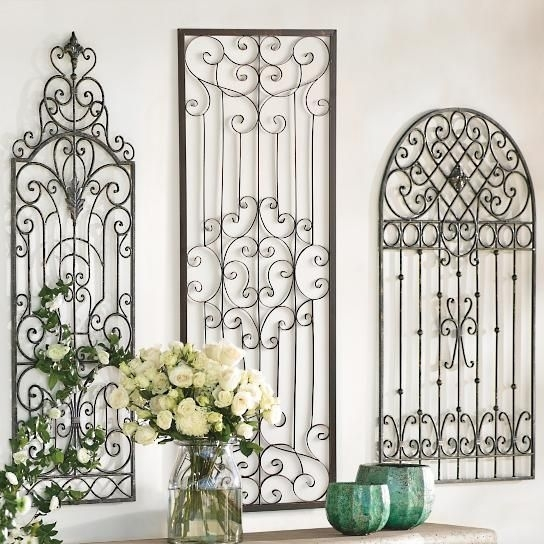 588 Best Fer Forgé / Iron Images On Pinterest | Wrought Iron with Architectural Wall Accents