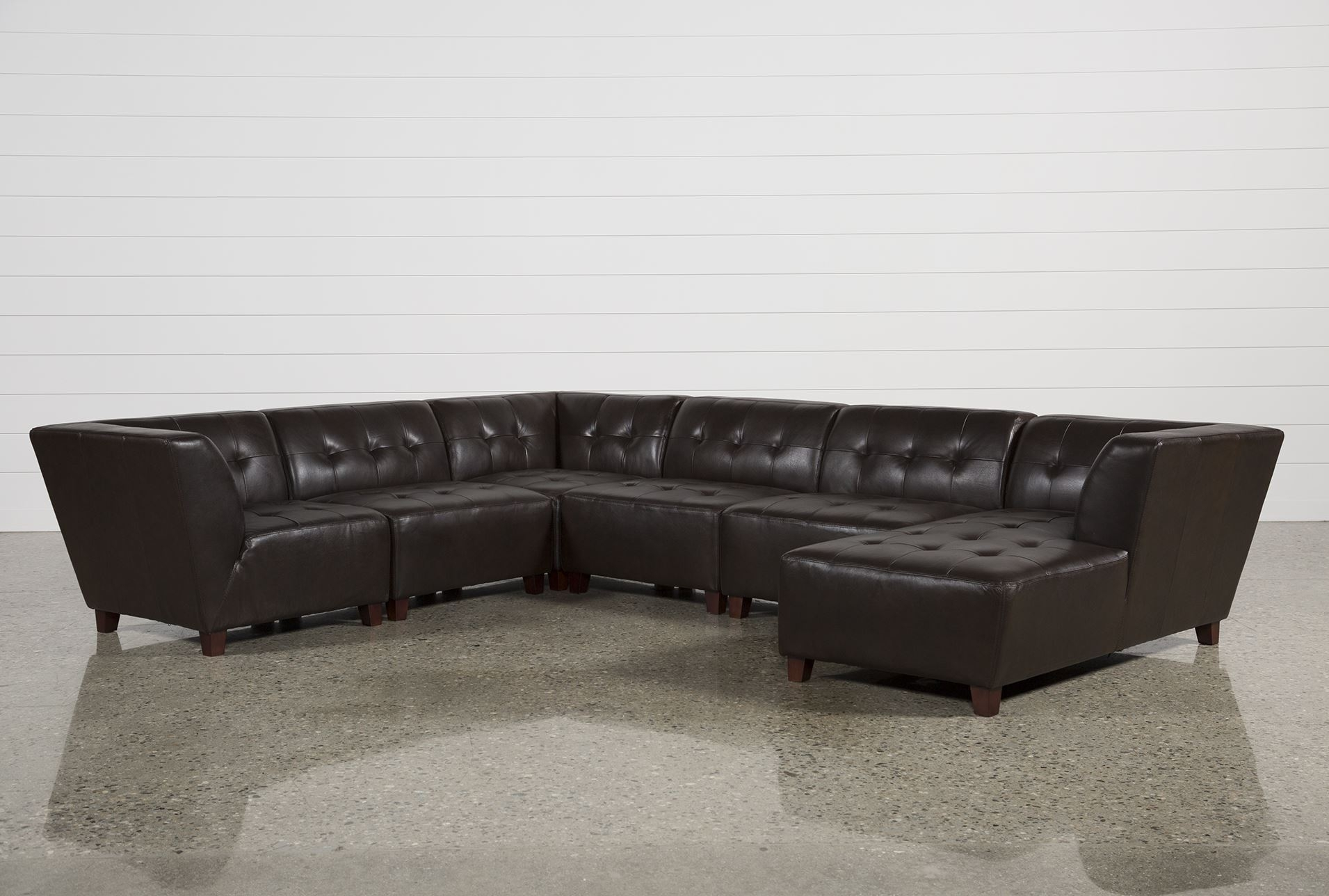 6 Piece Leather Sectional Sofa - Cleanupflorida with regard to 6 Piece Leather Sectional Sofas