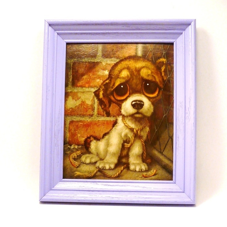 60 Best Gig Paintings Images On Pinterest | Big Eyes, Big Eyes Intended For Dog Art Framed Prints (View 7 of 15)