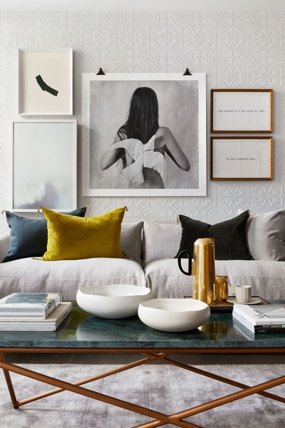 600 Best Wall Art Groupings Images On Pinterest | Homes, Room Wall throughout Wall Accents For Yellow Room