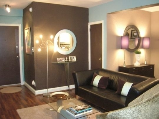 61 Best Accent Walls & Color Palettes Images On Pinterest | Home With Brown Wall Accents (Photo 2 of 15)