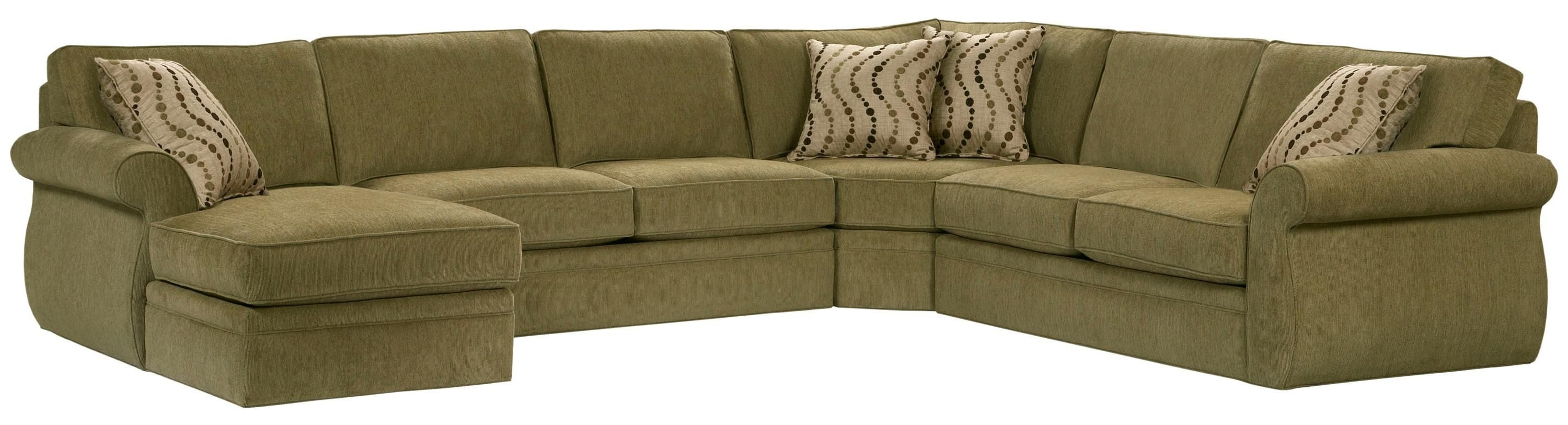 6170 Veronica Left Arm Facing Customizable Chaise Sectional Sofa For Sectional Sofas At Broyhill (Image 1 of 10)