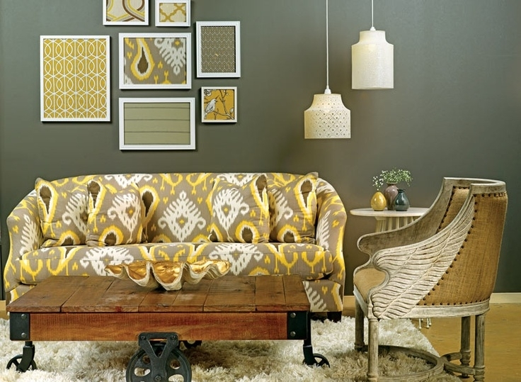 62 Best Ikat Decor Images On Pinterest | Ikat, Ikat Fabric And My Regarding Ikat Fabric Wall Art (View 9 of 15)