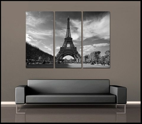 65 Best Paris! Images On Pinterest | Paris France, Bonjour And France Intended For Eiffel Tower Canvas Wall Art (Photo 10 of 15)