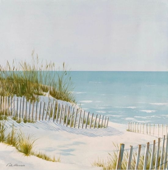 652 Best Coastal Art Images On Pinterest | Bathrooms, Coastal Art Intended For Framed Beach Art Prints (View 9 of 15)