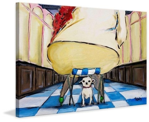 66 Best Dogs Art Images On Pinterest | Dog Art, Painting Prints inside Howard Stern Canvas Wall Art