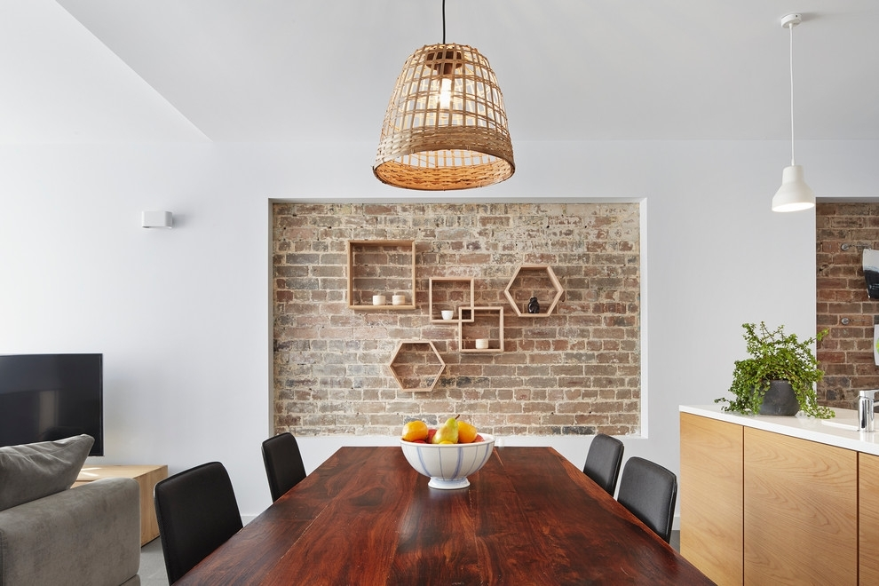 69 Cool Interiors With Exposed Brick Walls – Digsdigs Throughout Exposed Brick Wall Accents (Photo 8 of 15)