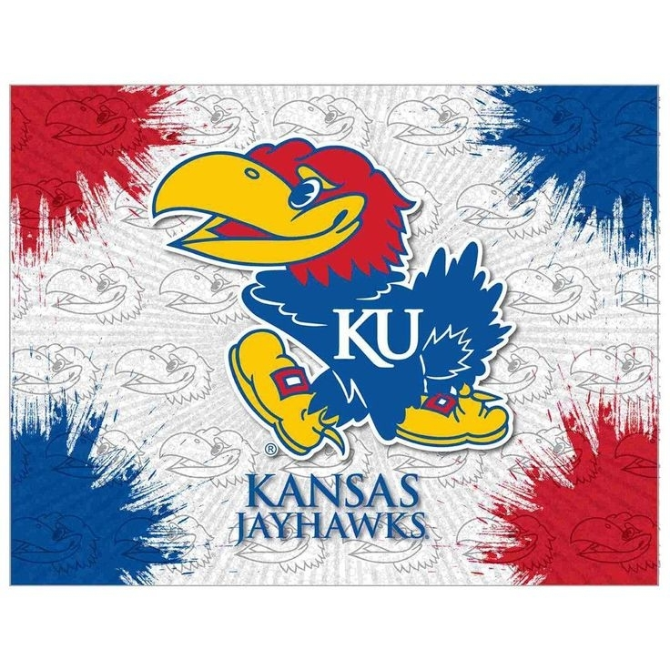 7 Best Jayhawks Images On Pinterest | Kansas Jayhawks, Beauty throughout Ku Canvas Wall Art