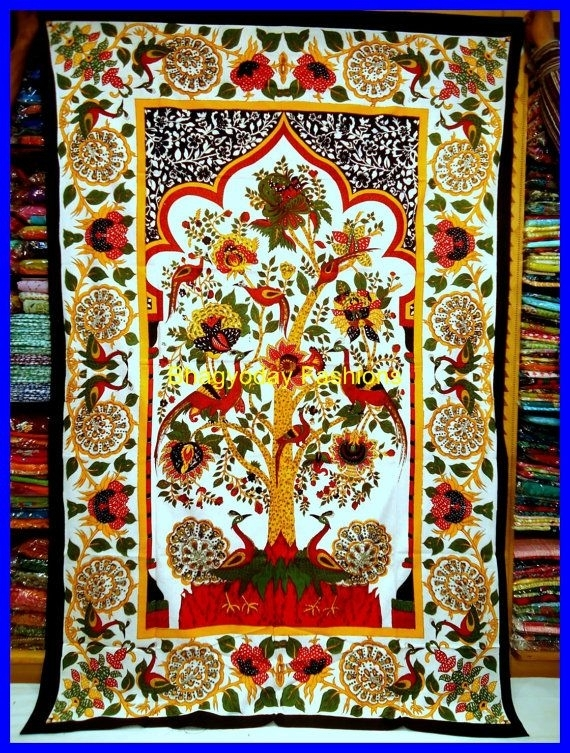 71 Best Indian Style Images On Pinterest | Indian Block Print For Indian Fabric Art Wall Hangings (View 15 of 15)