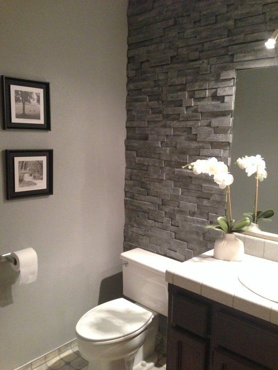77 Best Home Ideas Images On Pinterest | Fireplace Ideas, Home Regarding Wall Accents Behind Toilet (View 6 of 15)