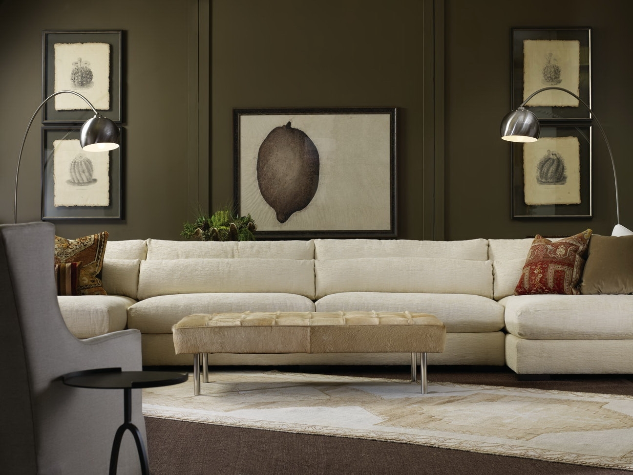 7822 Sectionallee Industries. Love The Casual Elegance. | Stay intended for Lee Industries Sectional Sofas