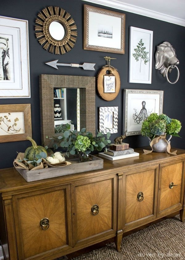 79 Best Paint Colors For Dining Rooms Images On Pinterest | Dining for Navy Wall Accents