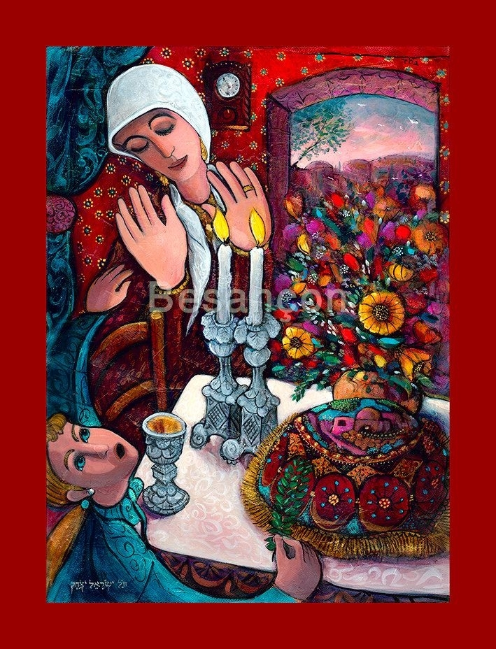 8 Best Paintings Images On Pinterest | Jewish Art, Rabbi And Oil Intended For Jewish Canvas Wall Art (View 10 of 15)