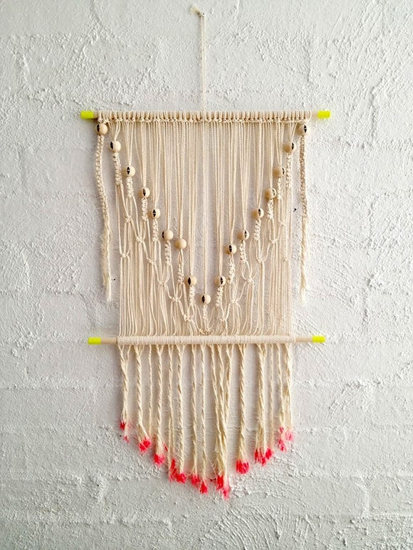 8 Simple Diy Wall Hangings In Diy Textile Wall Art (Image 4 of 15)