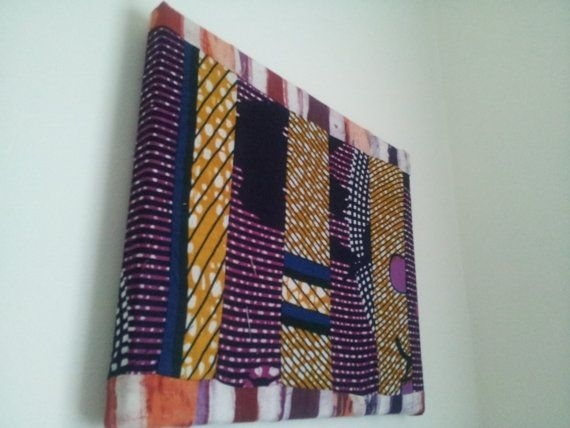 81 Best Bag It Images On Pinterest | African Prints, Africans And Within Ankara Fabric Wall Art (Image 5 of 15)