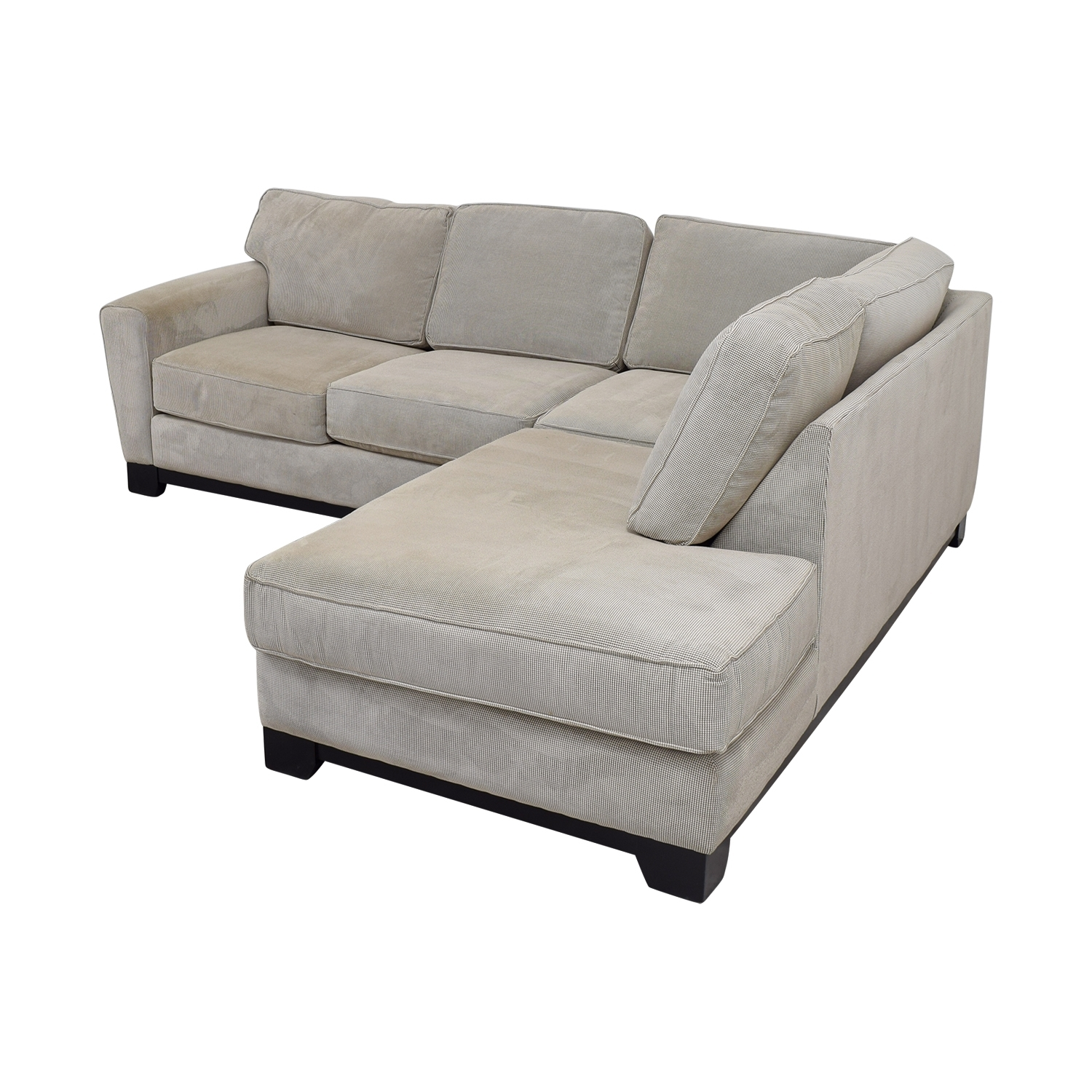 84% Off - Jordan's Furniture Jordan's Furniture Beige L-Shaped throughout Jordans Sectional Sofas