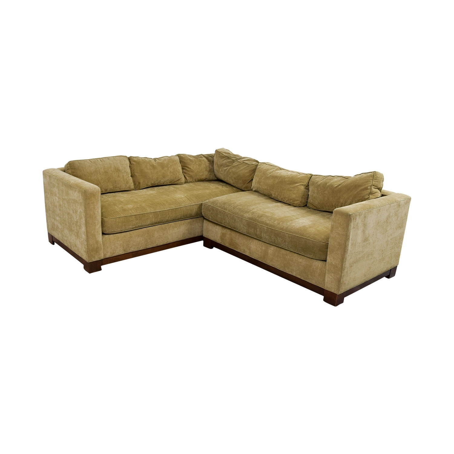84% Off – Mitchell Gold + Bob Williams Mitchell Gold + Bob Williams In Gold Sectional Sofas (View 9 of 10)