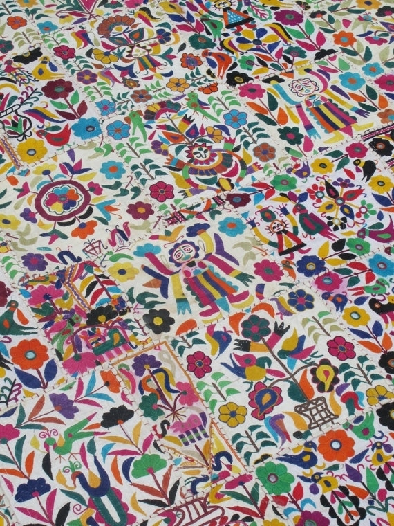 86 Best Mexican Pattern And Colour (Art & Design) Images On With Mexican Fabric Wall Art (Image 8 of 15)