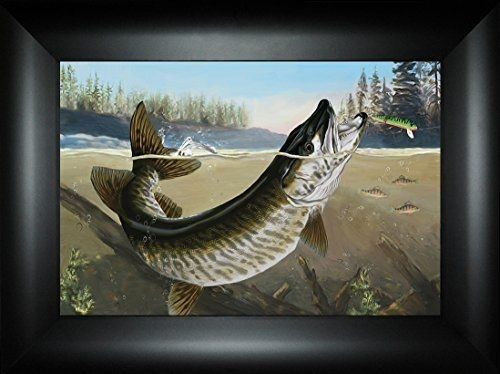 88 Best Northwoods Fishing Framed Art Images On Pinterest Inside Bass Framed Art Prints (Image 2 of 15)