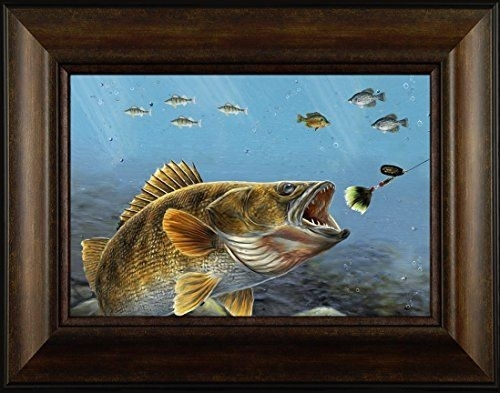 88 Best Northwoods Fishing Framed Art Images On Pinterest Regarding Bass Framed Art Prints (Image 3 of 15)