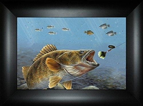 88 Best Northwoods Fishing Framed Art Images On Pinterest with regard to Bass Framed Art Prints