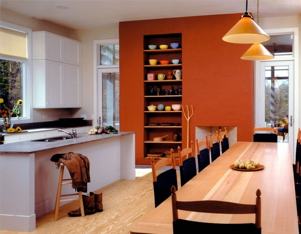 9 Accents Wall Colors That Can Spice Up Any Kitchen — Eatwell101 With Regard To Wall Colors And Accents (Photo 1 of 15)