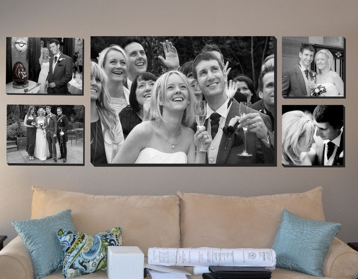 9 Best Wedding Canvas Prints Images On Pinterest | Photo Canvas Pertaining To Black And White Photography Canvas Wall Art (Photo 15 of 15)