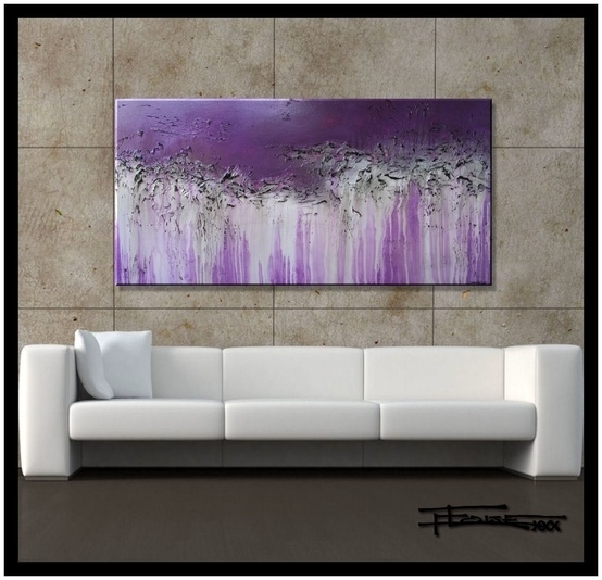 90 Best Colors Grey (Gray) + Plum, Lavender, Eggplant & Hits Of Throughout Purple And Grey Abstract Wall Art (Image 2 of 15)