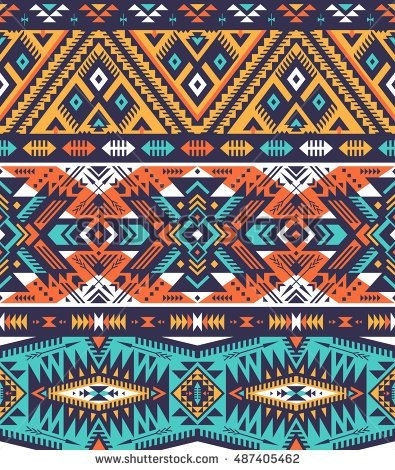 93 Best Arrow Wall Art Images On Pinterest | Abstract Geometric In Aztec Fabric Wall Art (Image 5 of 15)