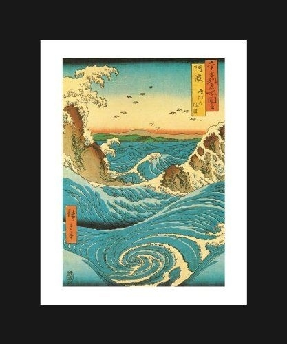 93 Best Hiroshige ~ Hokusai ~ Japanese Art Images On Pinterest Pertaining To Funky Art Framed Prints (Image 4 of 15)