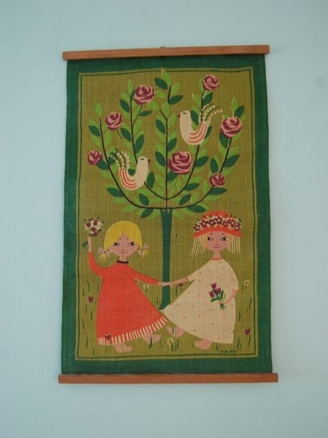 94 Best Scandinavian Textile Art Images On Pinterest with regard to Mid Century Textile Wall Art
