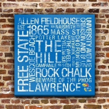 95 Best Ku Jayhawks Images On Pinterest | Kansas Jayhawks, Canvas Inside Ku Canvas Wall Art (Photo 3 of 15)