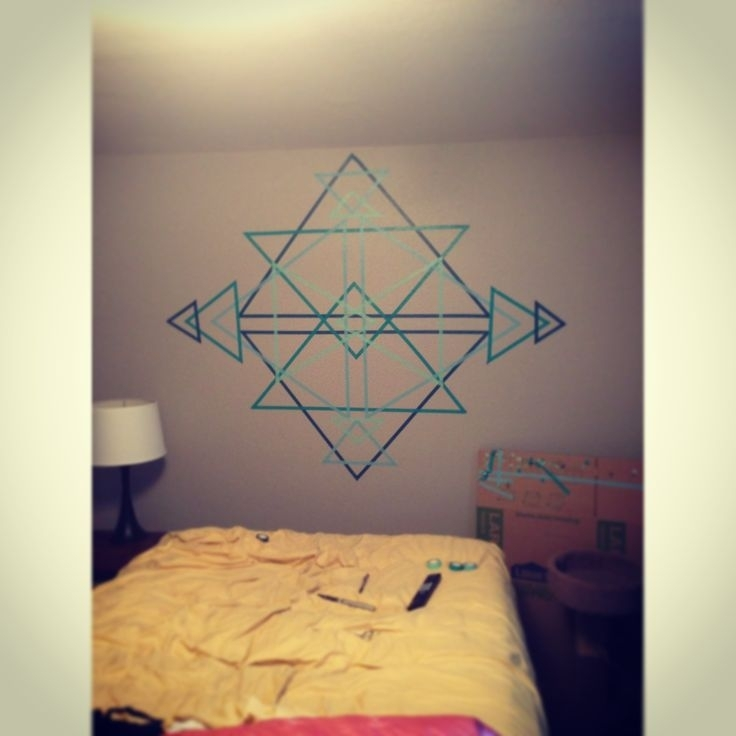 A 30 Minutes Wall Art | 30Th, Walls And Craft With Geometric Shapes Wall Accents (View 12 of 15)