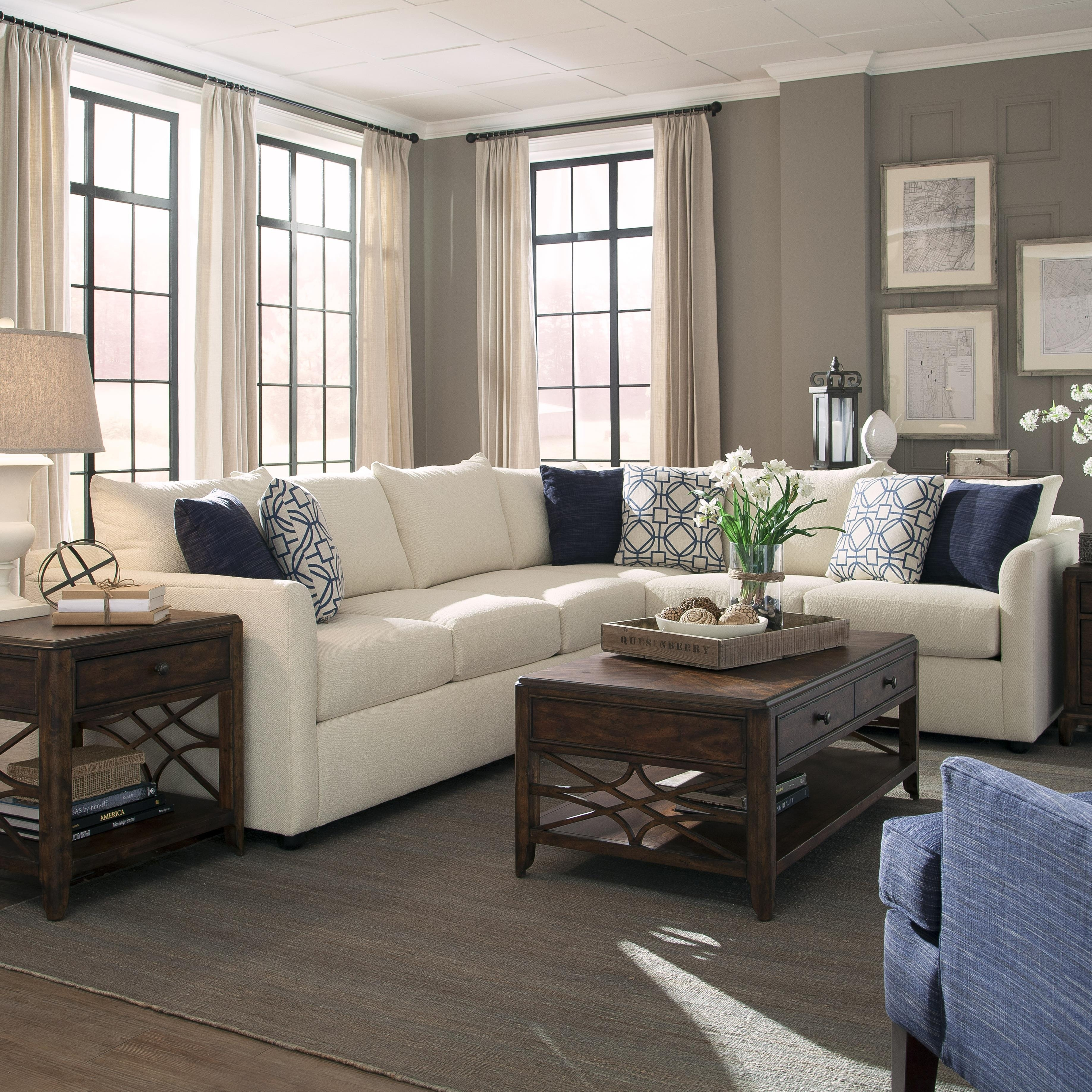 A Beautiful 2 Piece Sectional From Trisha Yearwood's Home Collection Throughout Sectional Sofas In Atlanta (View 6 of 10)